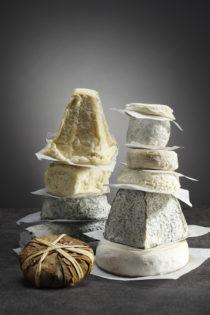 Goat's and<br/> ewe's cheeses