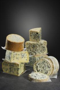Blue-veined cheese or blue cheese