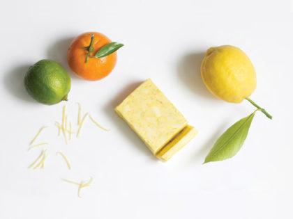 Butter with zest of citrus