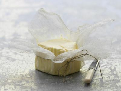 Churned butter
